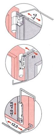 Seřízení plastových dveří rehau